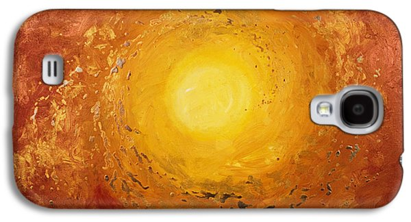 Cosmic Space Paintings Galaxy S4 Cases - Spiralus Galaxy S4 Case by Tara Thelen - Printscapes