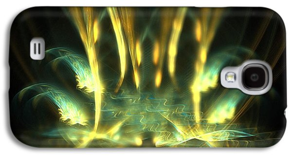 Nature Abstracts Galaxy S4 Cases - Spires Galaxy S4 Case by Kim Sy Ok