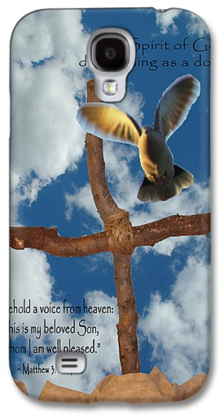 Pentecost Galaxy S4 Cases - Spirit of God Galaxy S4 Case by Robyn Stacey