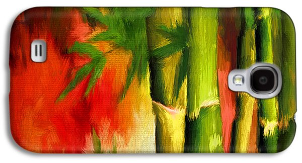 Bamboo Galaxy S4 Cases - Spirit Of Summer- Bamboo Artwork Galaxy S4 Case by Lourry Legarde