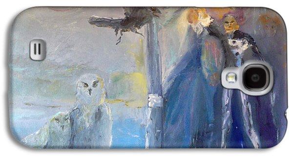Sun Galaxy S4 Cases - Spirits in the Night Galaxy S4 Case by Susan  Esbensen