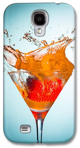 Abstract Movement Galaxy S4 Cases - Splash-009 Galaxy S4 Case by Jannis Politidis