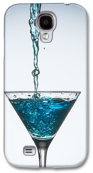 Abstract Movement Galaxy S4 Cases - Splash-013 Galaxy S4 Case by Jannis Politidis