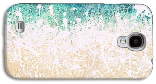 Recently Sold -  - Abstract Digital Paintings Galaxy S4 Cases - Splash Galaxy S4 Case by Jaison Cianelli