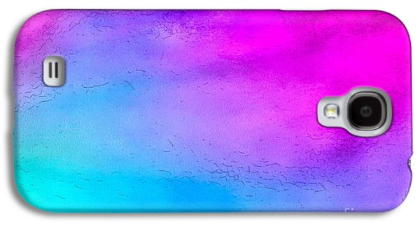 Splash Of Color Galaxy S4 Case by Krissy Katsimbras