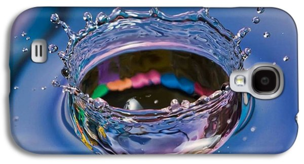 Girl Galaxy S4 Cases - Splash of water Galaxy S4 Case by Ilija Markovski