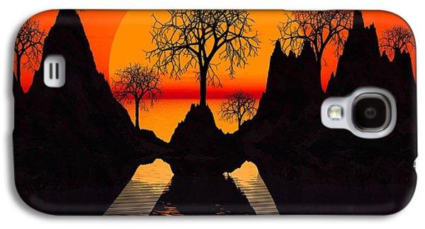 Dreamscape Galaxy S4 Cases - Splintered  Sunlight Galaxy S4 Case by Robert Orinski