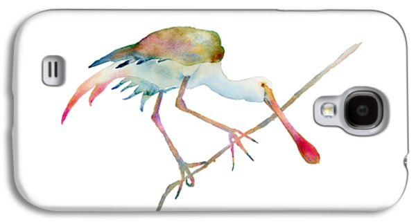 Spoonbill  Galaxy S4 Case by Amy Kirkpatrick