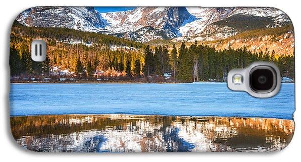 Landscape Acrylic Prints Galaxy S4 Cases - Sprague Lake Galaxy S4 Case by Darren  White