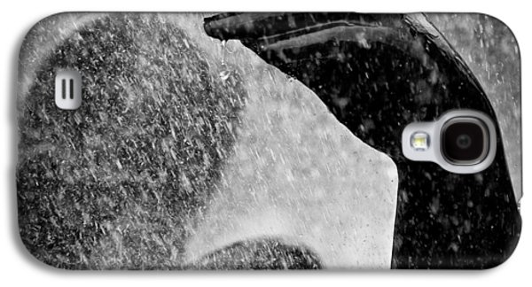Abstract Rain Galaxy S4 Cases - Spray Galaxy S4 Case by Dave Bowman