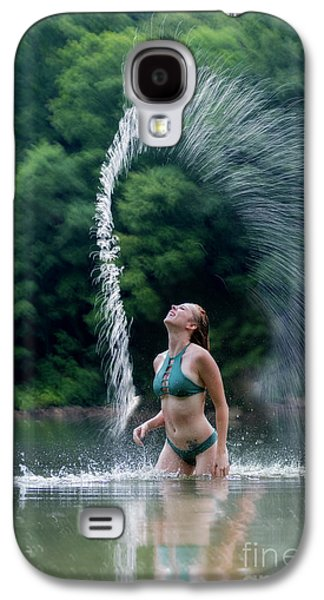 Spraying The Water Galaxy S4 Case by Dan Friend