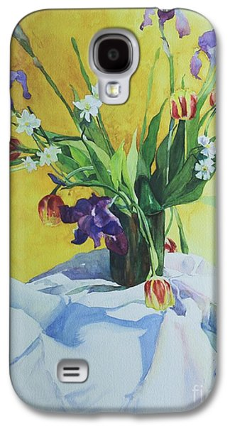 Elizabeth Carr Galaxy S4 Cases - Spring Bouquet Galaxy S4 Case by Elizabeth Carr