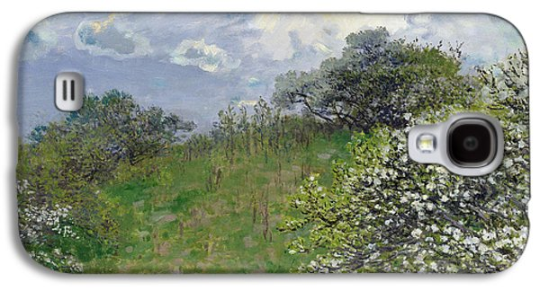 French Signs Galaxy S4 Cases - Spring Galaxy S4 Case by Claude Monet