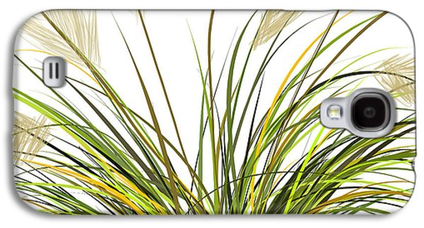 Moss Galaxy S4 Cases - Spring Grass Galaxy S4 Case by Lourry Legarde