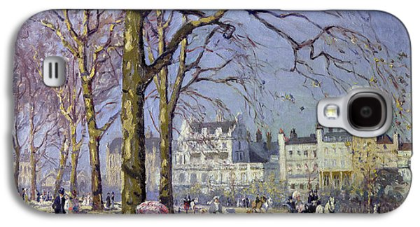 Spring In Hyde Park Galaxy S4 Case by Alice Taite Fanner