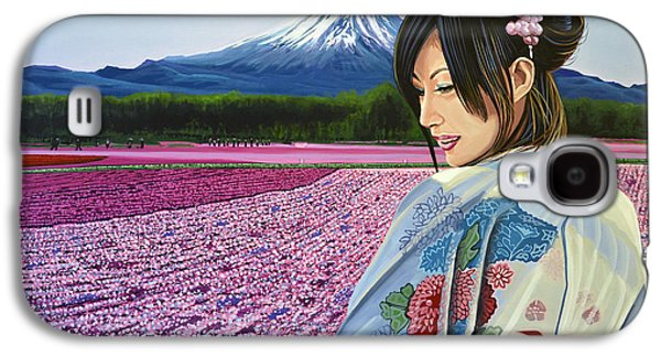 Spring Scenery Galaxy S4 Cases - Spring in Japan Galaxy S4 Case by Paul Meijering
