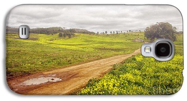 Mud Season Galaxy S4 Cases - Spring Landscape Galaxy S4 Case by Carlos Caetano