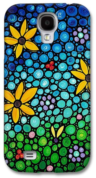 Best Sellers -  - Nature Abstracts Galaxy S4 Cases - Spring Maidens Galaxy S4 Case by Sharon Cummings