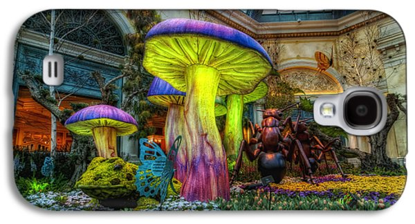 Spring Mushrooms Galaxy S4 Case by Stephen Campbell