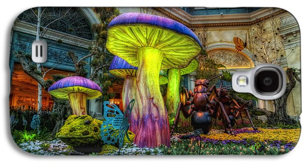 Ants Galaxy S4 Cases - Spring Mushrooms Galaxy S4 Case by Stephen Campbell
