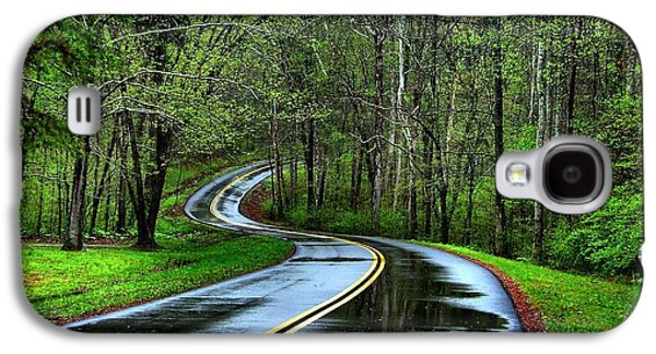 Julie Dant Photogrpahy Photographs Galaxy S4 Cases - Spring on the Natchez Trace Galaxy S4 Case by Julie Riker Dant