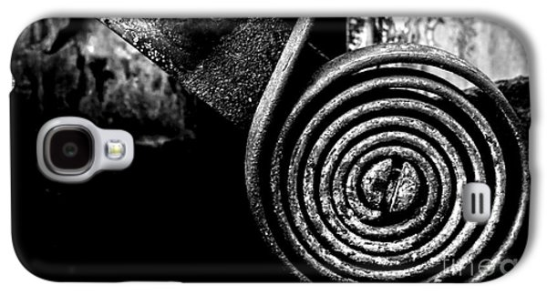 Mechanism Galaxy S4 Cases - Spring Roll - BW Galaxy S4 Case by James Aiken