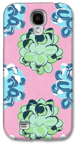 Spring Succulents- Art By Linda Woods Galaxy S4 Case by Linda Woods