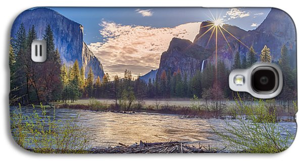 Spring Sunrise At Yosemite Valley Galaxy S4 Case by Scott McGuire