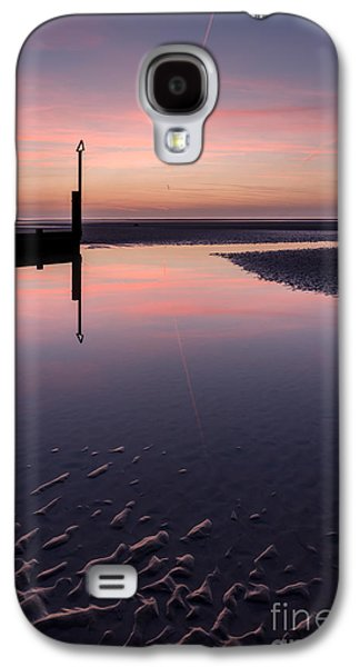 Sunsets Digital Art Galaxy S4 Cases - Spring Sunset Galaxy S4 Case by Adrian Evans