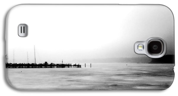 Docked Sailboat Galaxy S4 Cases - Spring Thaw Galaxy S4 Case by Michelle Calkins