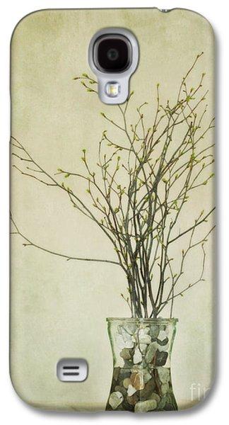 Tabletop Galaxy S4 Cases - Spring Unfolds Galaxy S4 Case by Priska Wettstein