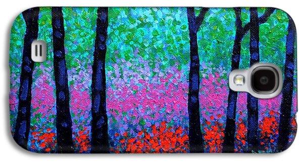 Spring Woodland Galaxy S4 Case by John  Nolan