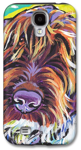 Puppies Galaxy S4 Cases - Spumoni Spinone Galaxy S4 Case by Lea