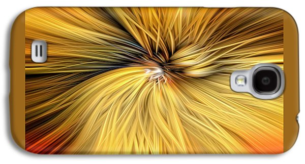 Fantasy Photographs Galaxy S4 Cases - Spun Gold D5802 Galaxy S4 Case by Wes and Dotty Weber