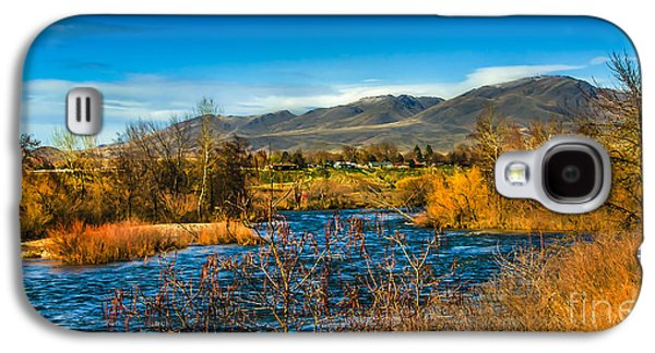 Haybale Galaxy S4 Cases - Squaw Butte and the Payette Galaxy S4 Case by Robert Bales