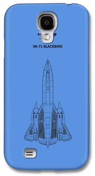 Sr-71 Blackbird Galaxy S4 Case by Mark Rogan