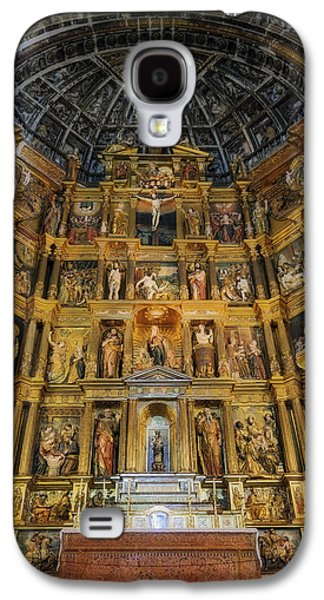 Incarnation Galaxy S4 Cases - St Jerome Monastery Interior Galaxy S4 Case by Joan Carroll