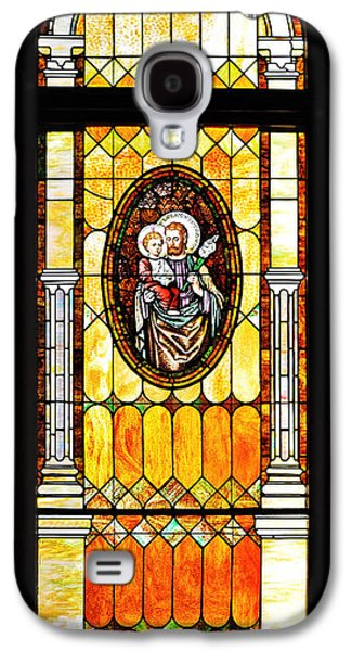 Child Jesus Galaxy S4 Cases - St Joseph Immaculate Conception San Diego Galaxy S4 Case by Christine Till