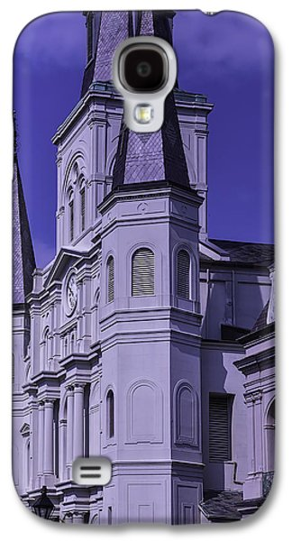 Landmarks Photographs Galaxy S4 Cases - St. Louis Cathedral 2 Galaxy S4 Case by Garry Gay