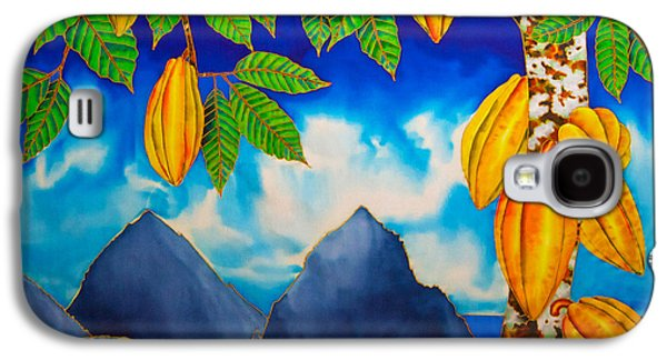 Landscapes Tapestries - Textiles Galaxy S4 Cases - St. Lucia Cocoa Galaxy S4 Case by Daniel Jean-Baptiste