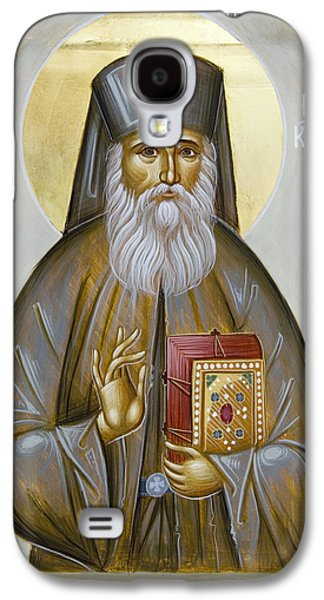 Byzantine Paintings Galaxy S4 Cases - St Nektarios of Aigina Galaxy S4 Case by Julia Bridget Hayes