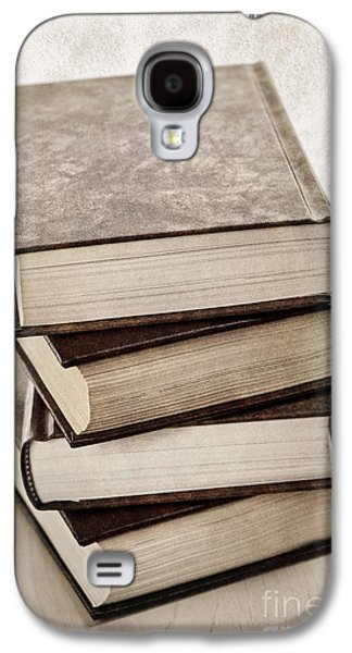 Stack Of Books Galaxy S4 Case by Elena Elisseeva