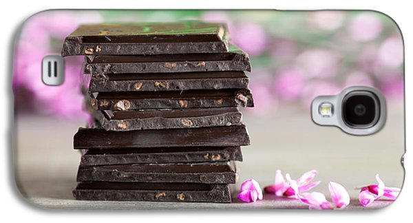 Stack Of Chocolate Galaxy S4 Case by Nailia Schwarz