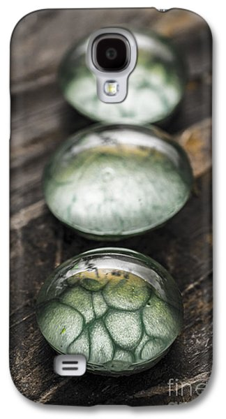 Circular Jewelry Galaxy S4 Cases - Stacked Glass Jewelry Galaxy S4 Case by Daniel Brunner