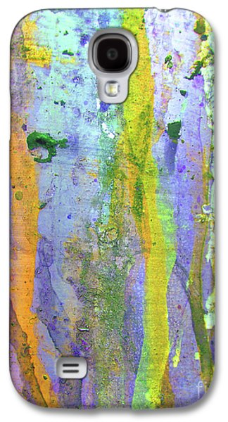 Mess Photographs Galaxy S4 Cases - Stains of Paint Galaxy S4 Case by Carlos Caetano