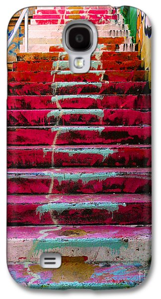 Stairs Galaxy S4 Case by Angela Wright
