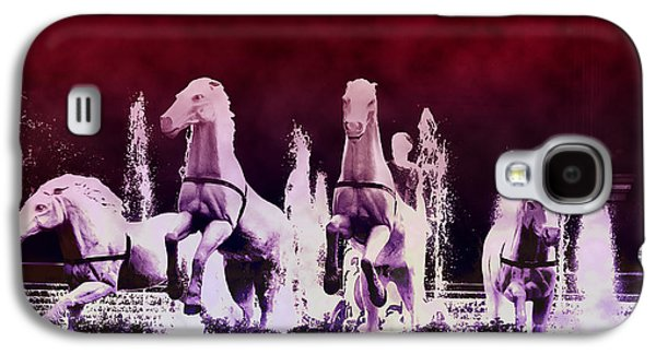 Stampede Digital Art Galaxy S4 Cases - Stampede Galaxy S4 Case by Bill Cannon