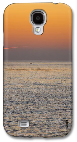 Beach Landscape Galaxy S4 Cases - Standing Water Galaxy S4 Case by Peter Tellone