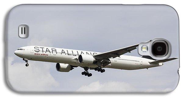 Star Alliance Boeing 777 Galaxy S4 Case by David Pyatt