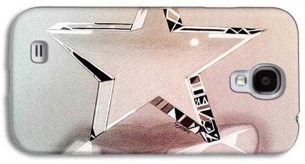Star Glass Galaxy S4 Cases - Star glass 3D Galaxy S4 Case by Giorgio Valencia